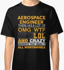 AEROSPACE ENGINEER BEST DESIGN 2017 Classic T-Shirt