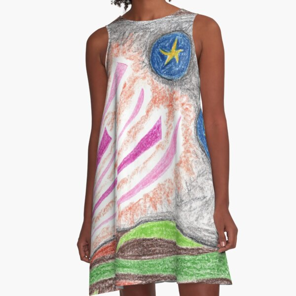 1005 - Star Night A-Linien Kleid