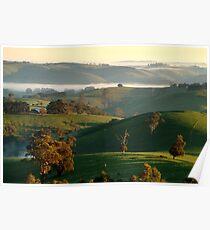 Rolling Hills, Dollar Gippsland Poster