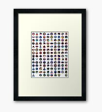 Shuttle Program Tribute Framed Print