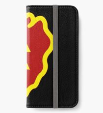 Logo of the 25th Infantry Division iPhone Wallet/Case/Skin