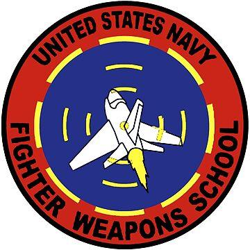 US Navy Top Gun Logo by Quatrosales