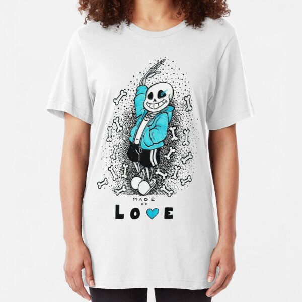Sans-Undertale Slim Fit T-Shirt