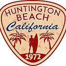 Surfing HUNTINGTON BEACH CALIFORNIA Surf Surfer Surfboard Waves Ocean 9 by MyHandmadeSigns