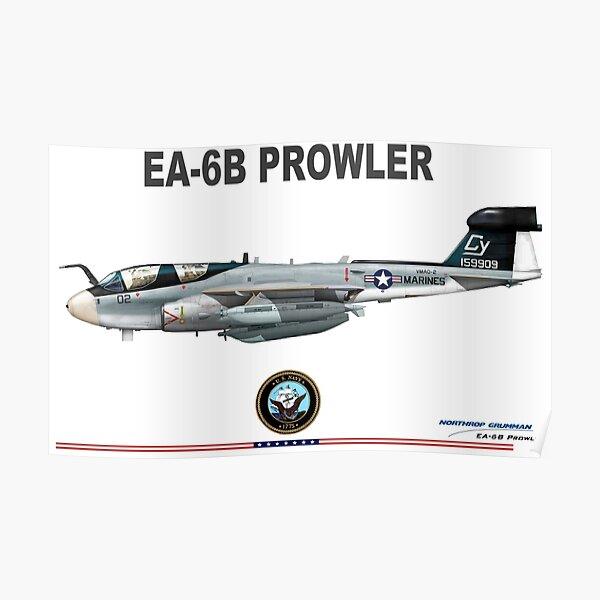 Northrop Grumman EA-6 Prowler Poster