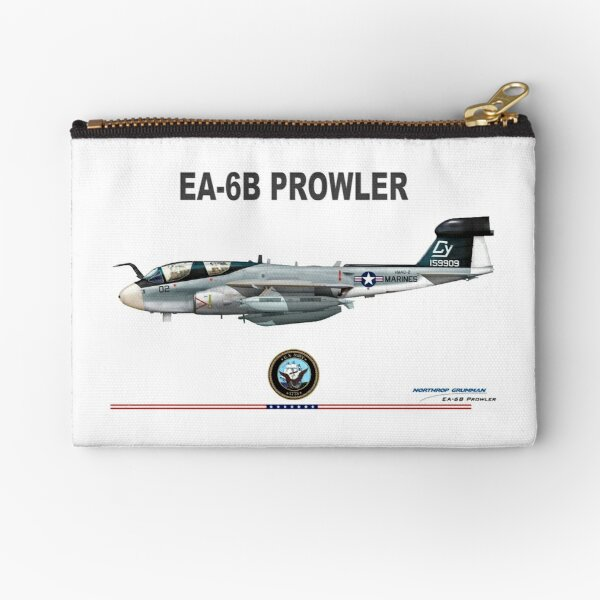 Northrop Grumman EA-6 Prowler Zipper Pouch
