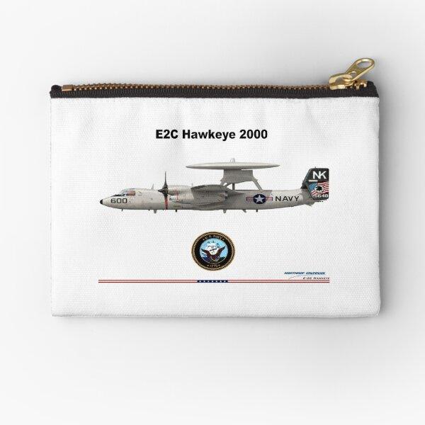 """E-2C Hawkeye """"Super Fudd"""" Zipper Pouch"""