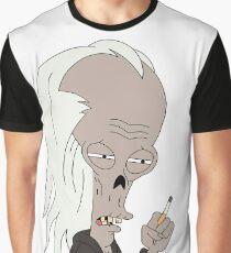 Roger Smoker Graphic T-Shirt