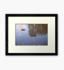 Lonely Buoy Framed Print