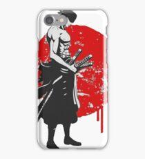 zorro one piece iPhone Case/Skin