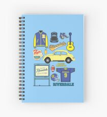 Archie icon set (Riverdale) Spiral Notebook
