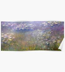 Water Lilies by Claude Monet, circa 1915-1926 Poster