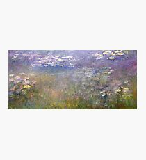 Water Lilies by Claude Monet, circa 1915-1926 Photographic Print