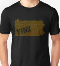 Yinz Speckled Unisex T-Shirt