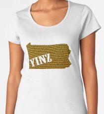 Yinz Speckled Women's Premium T-Shirt