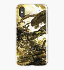 alien vs predator vs marine iPhone Case/Skin