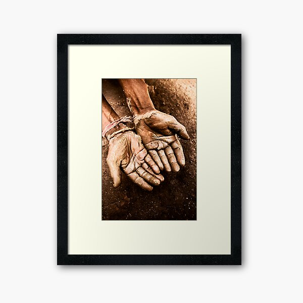 Craftsmans Hand Framed Art Print
