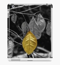 OneYellow Leaf iPad Case/Skin
