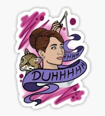 Cheryl Tunt - Archer Sticker