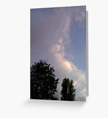 More Faces in Clouds Greeting Card