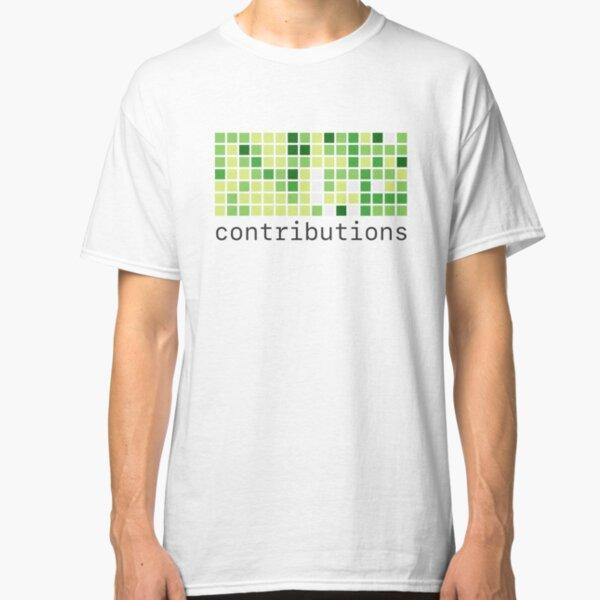 Github Contributions Classic T-Shirt