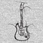 bass guitar by ronniearts