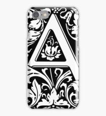 Medieval Letter A William Morris Letter Font iPhone Case/Skin