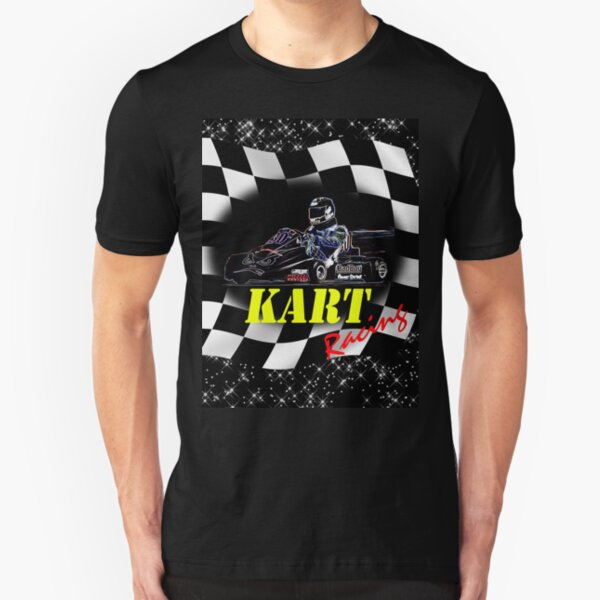 Kart Racer Slim Fit T-Shirt