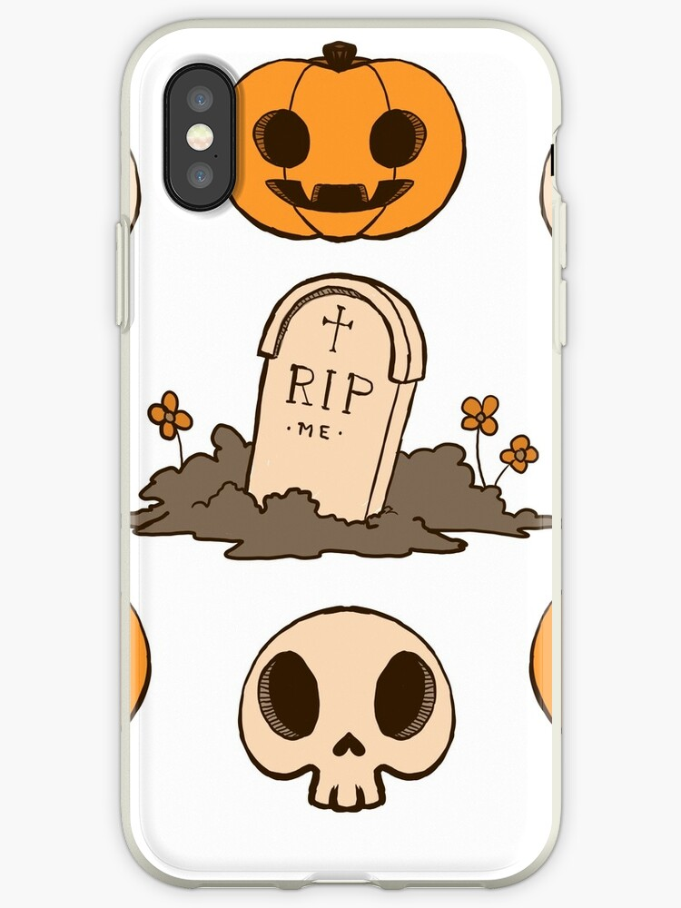 Halloween Stickers Aesthetic.Halloween Aesthetic A Iphone Case By Mshollowfox