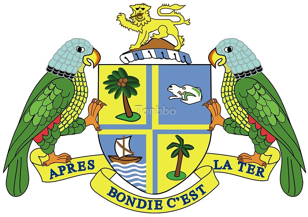 Commonwealth of Dominica coat of arms by Tonbbo