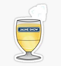 Jaune Snow - Jon Snow - Ricard Sticker