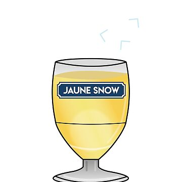 Yellow Snow - Jon Snow - Ricard by Soronelite