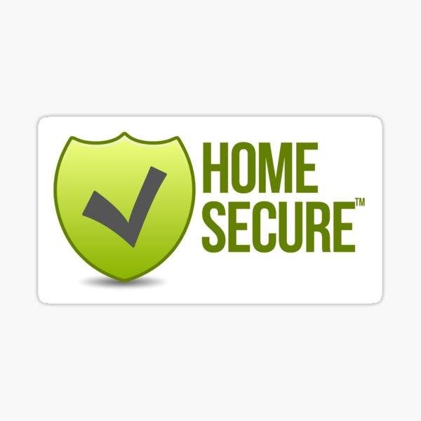 Home Secure Sticker Sticker