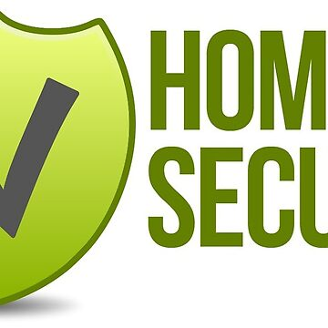 Home Secure Sticker by madphotoart