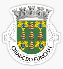 Funchal, coat of arms Sticker