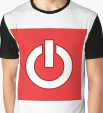 Power OFF Graphic T-Shirt