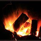 camping by Rob  McDonald