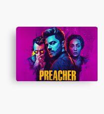 Preacher Purple Canvas Print