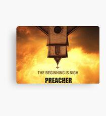 Preacher Canvas Print