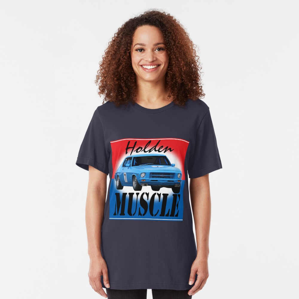 Holden Muscle Car Slim Fit T-Shirt
