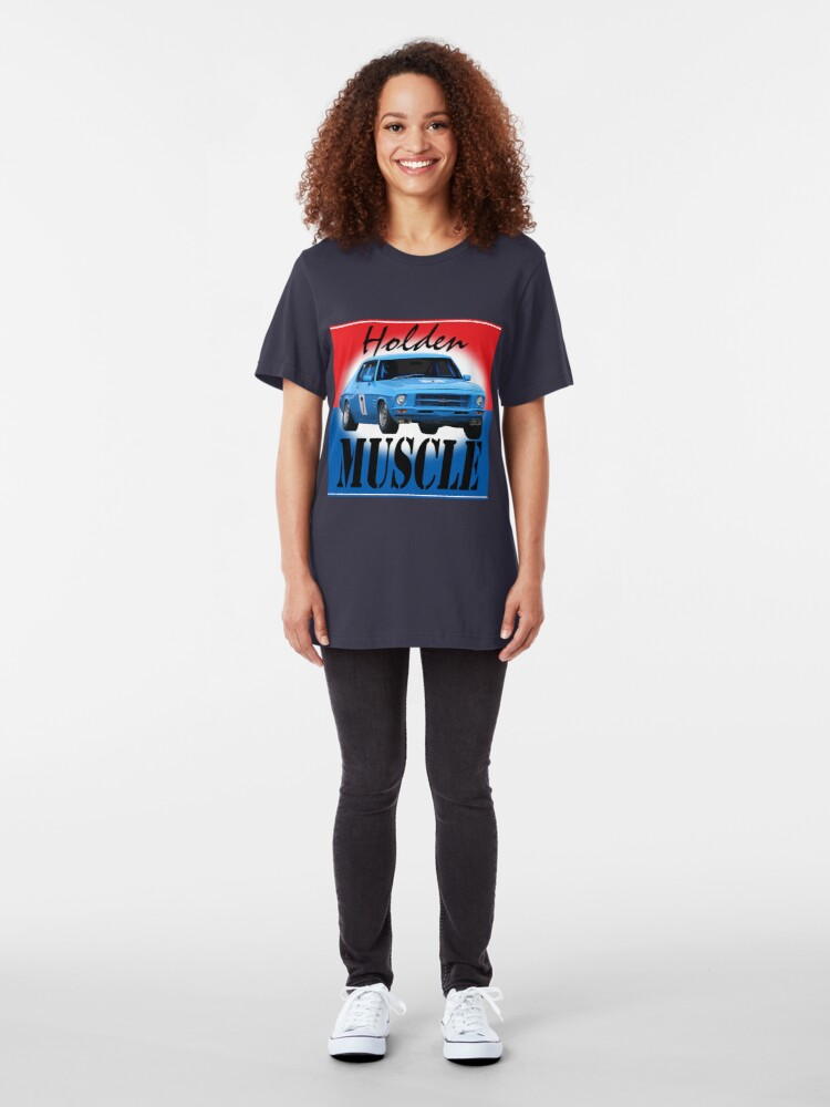 Alternate view of Holden Muscle Car Slim Fit T-Shirt