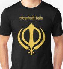 Charhdi Kala-Sikhism Khanda-Punjabi Deg Teg Fateh T-shirt Unisex T-Shirt