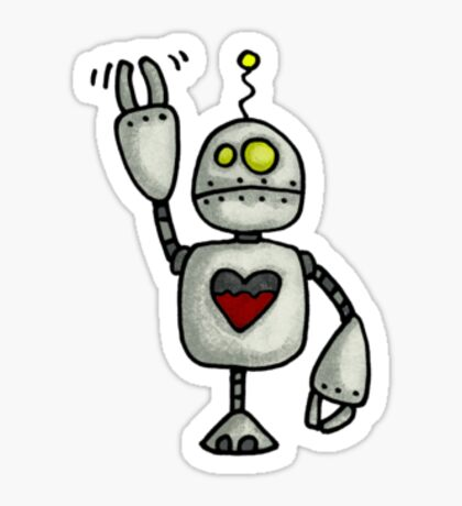 little love bot Sticker