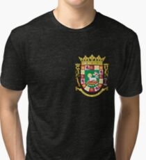 Puerto Rico coat of arms Tri-blend T-Shirt