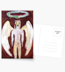 Virile Angel with Ouroboros Postcards