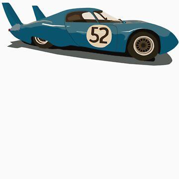 1963 Le Mans Peugeot by jozzas