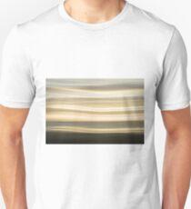 Coastal abstract wavy pattern over horizon T-Shirt