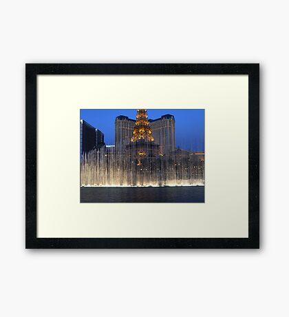 Fountains 11 Framed Print