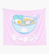 Cute Ramen Wall Tapestry