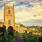St Nicholas Church High Bradfield Sheffield by Lynn Bolt